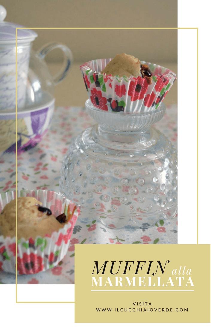 muffin alla marmellata Pinterest