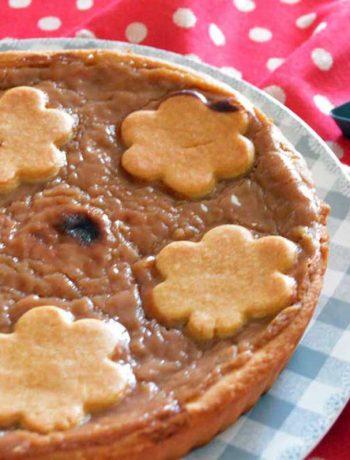 crostata con crema di marroni