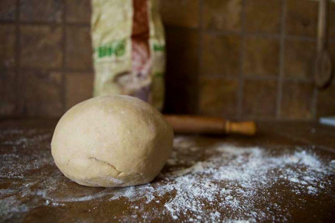 Pasta brisé con farina di castagne