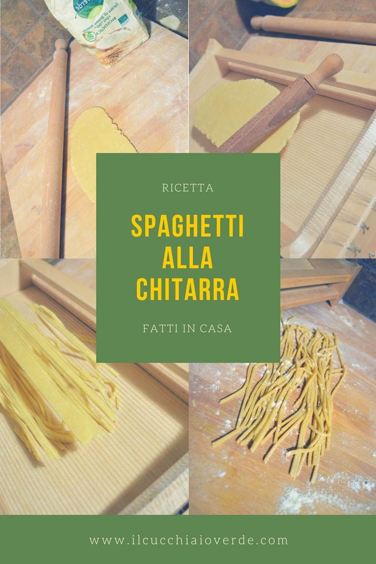 ricetta spaghetti alla chitarra