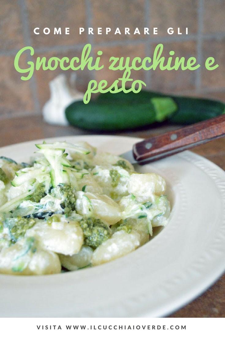 gnocchi con sugo di zucchine