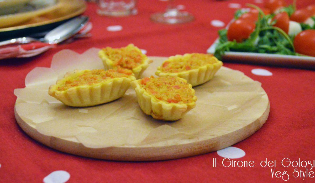 cestini di brise carote e curry