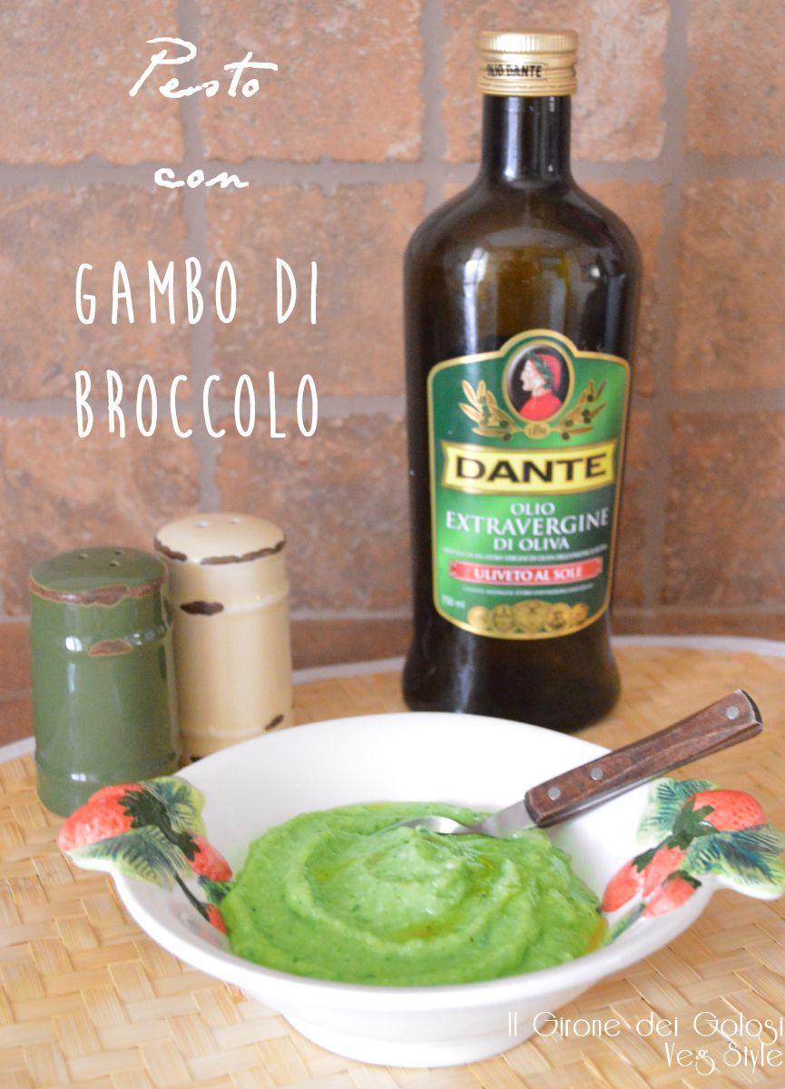 pesto con gambo di broccolo