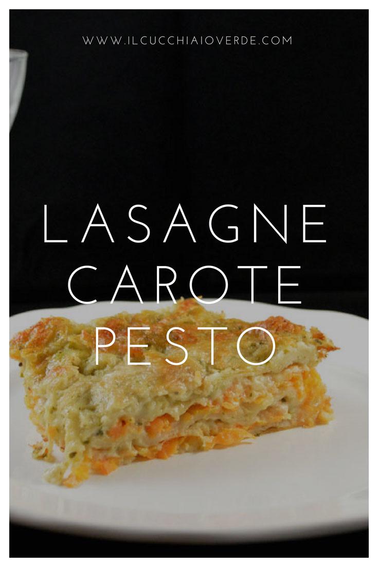 lasagne carote e pesto
