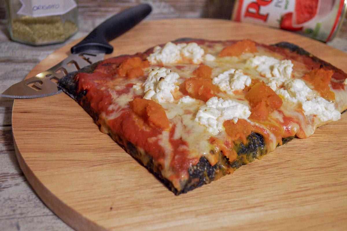 Pizza con la zucca