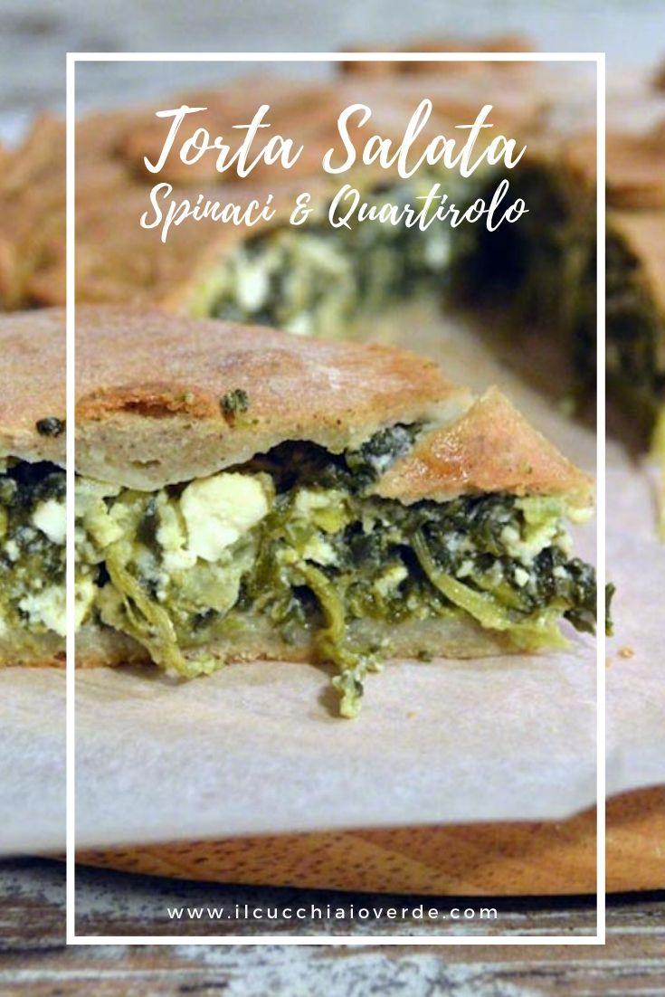 Ricetta torta salata con spinaci e formaggio