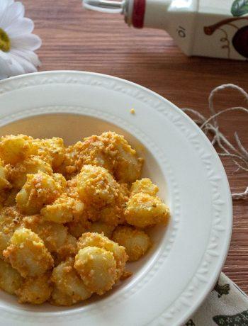 Gnocchi carote e limone