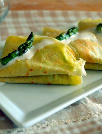 Crepes Asparagi e Brie