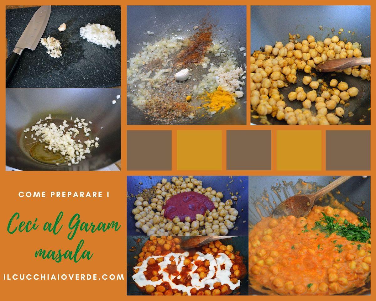 Come preparare i ceci al garam masala