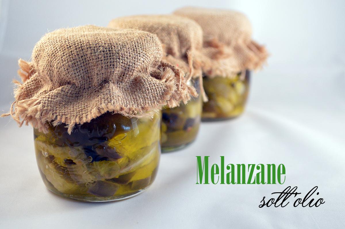 melanzane sott'olio, vasetto