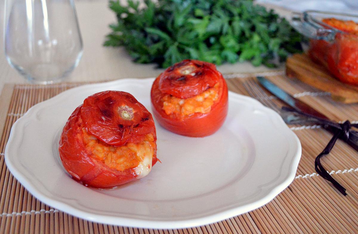 pomodori ripieni di orzo