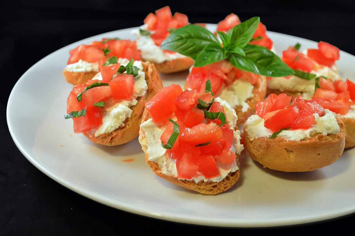 granetti formaggio e pomodoro