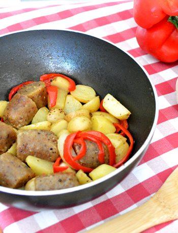 salsicce vegane