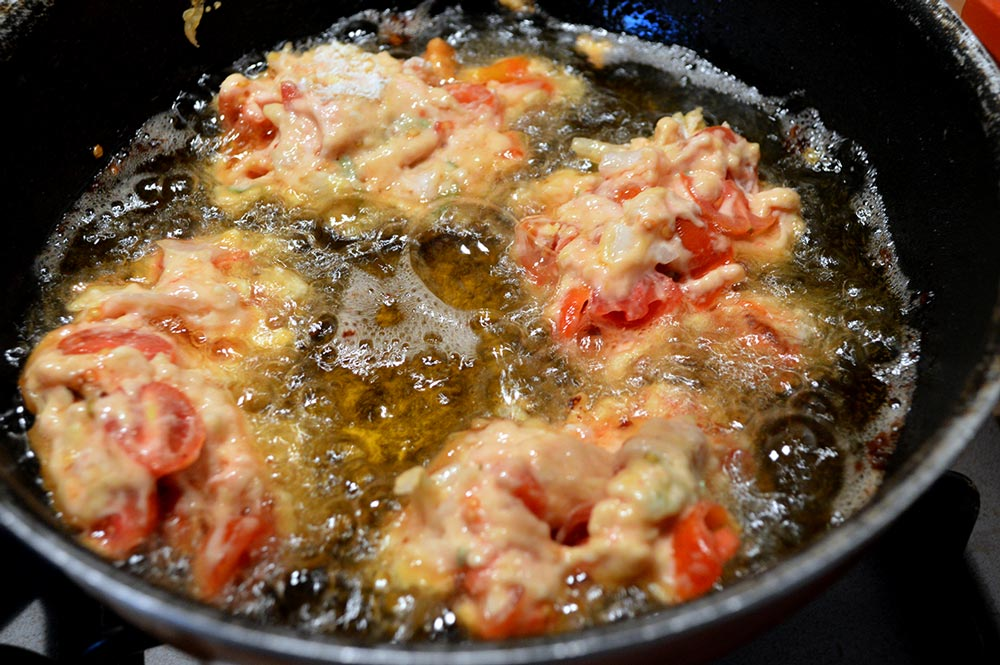 frittelle di pomodoro