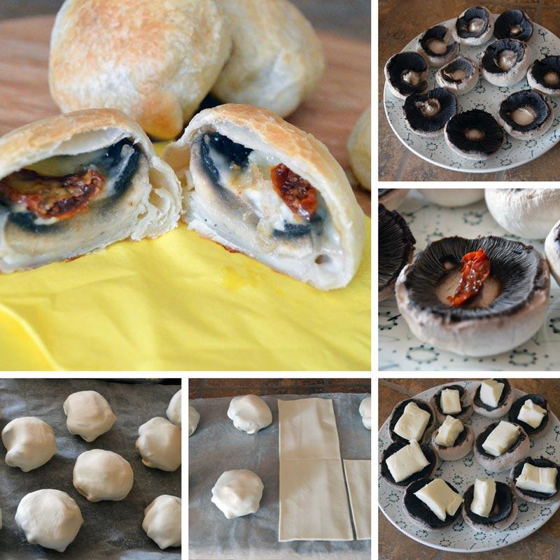 funghi in crosta