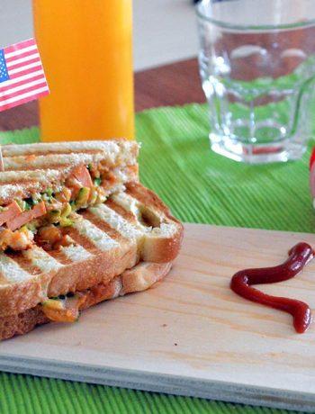 toast wurstel zucchine