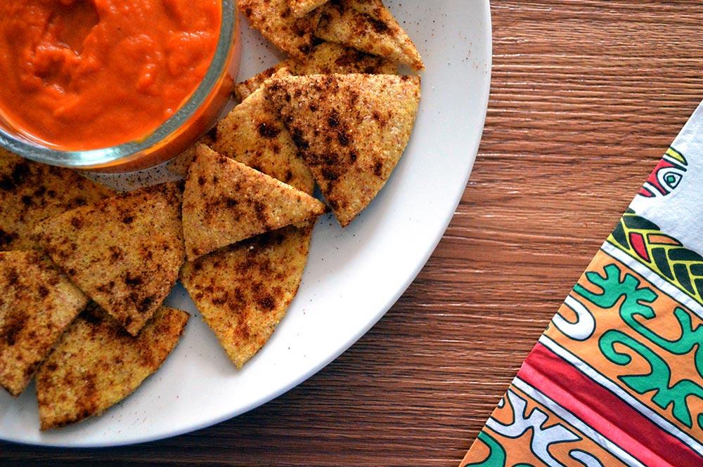 nachos patatine messicane