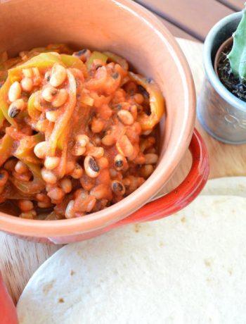 chili black eyed peas