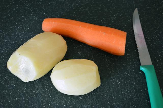 pure di patate e carote