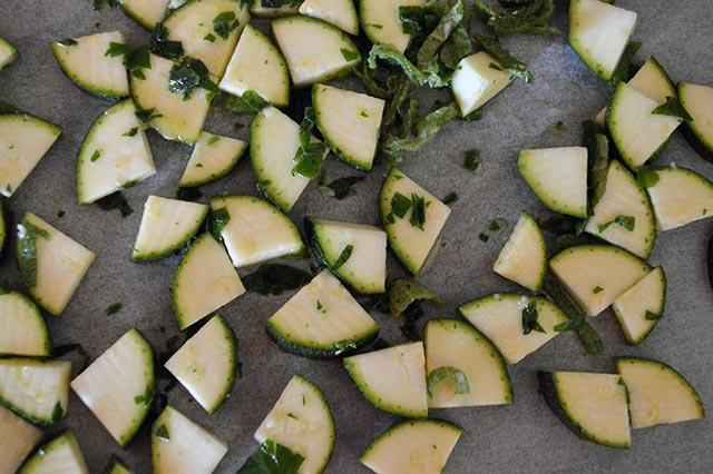 pasta cremosa con zucchine