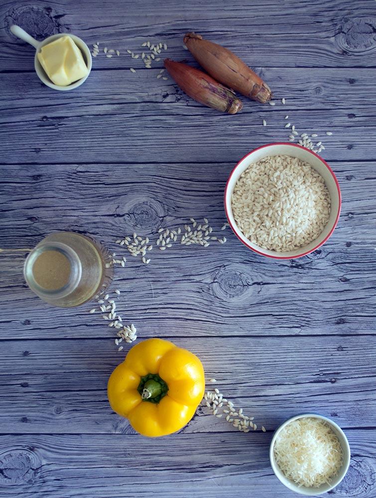 come preparare il risotto ai peperoni