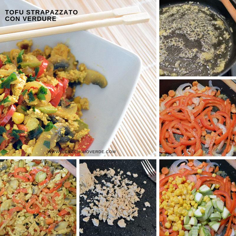 ricetta tofu strapazzato