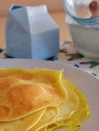 Crepes senza uova