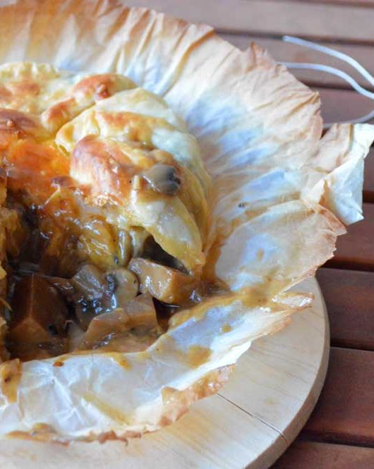 beef pie vegetariana
