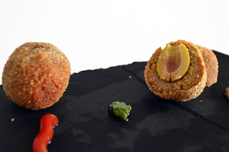 olive all'ascolana vegetariane