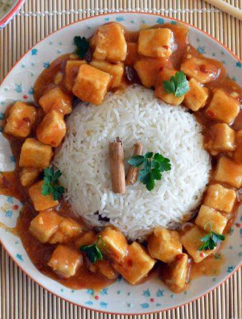 tofu all'arancia