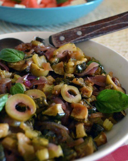 caponata di zucchine