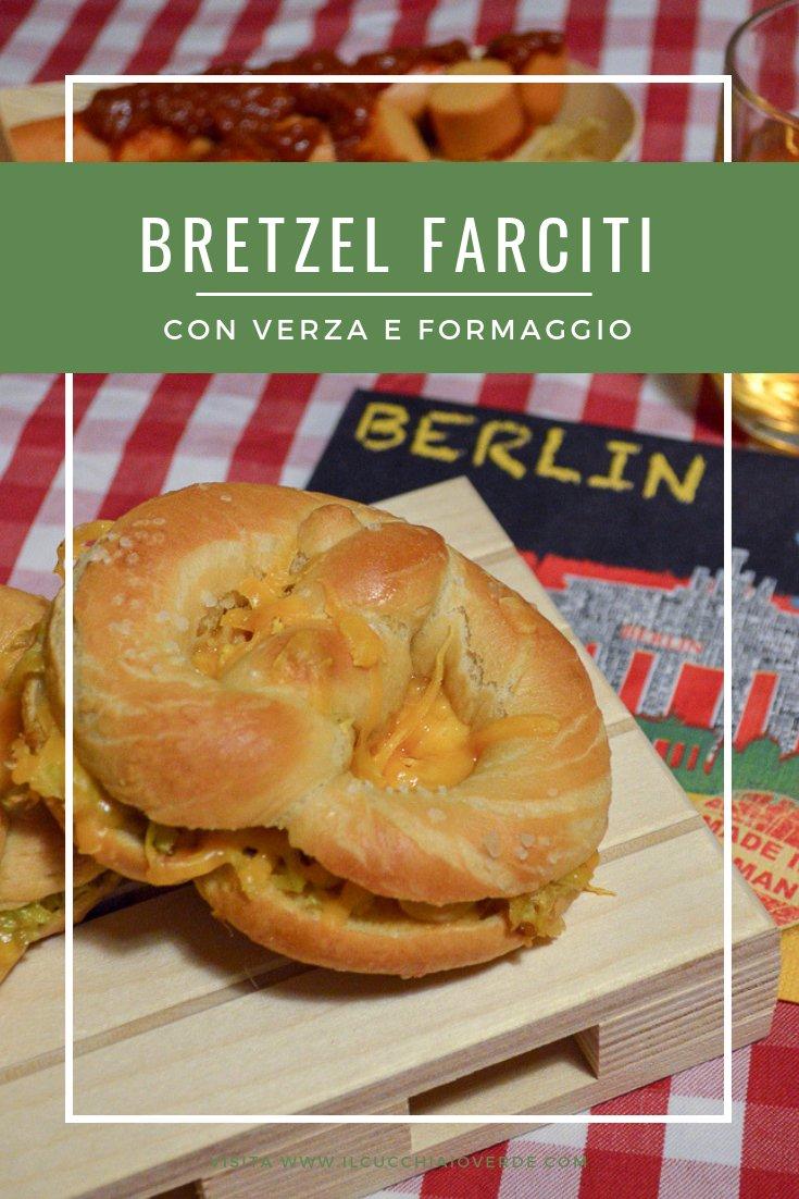bretzel formaggio e verza