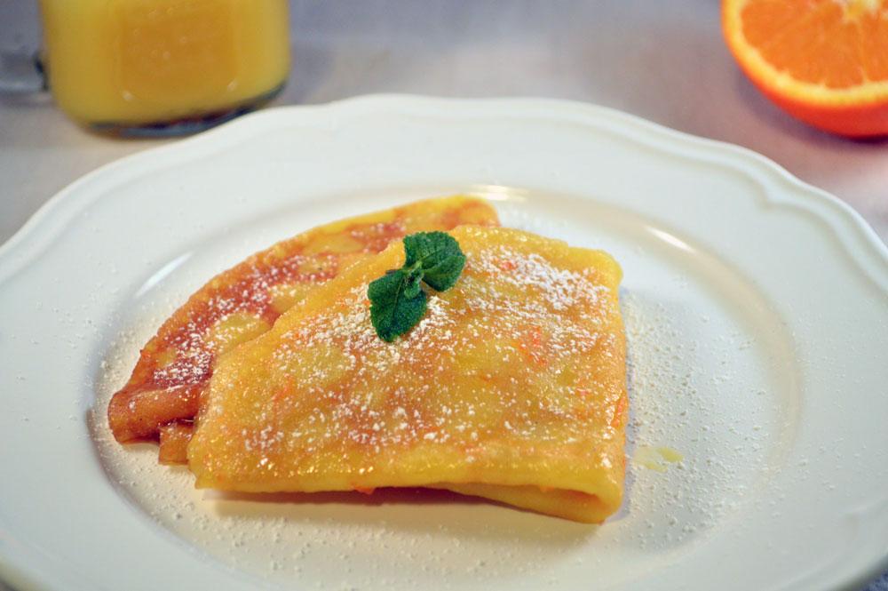 Crepe suzette