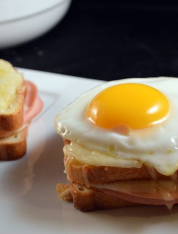 croque madame e croque monsieur