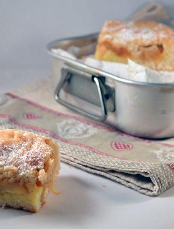 torta di mele con crema pasticcera