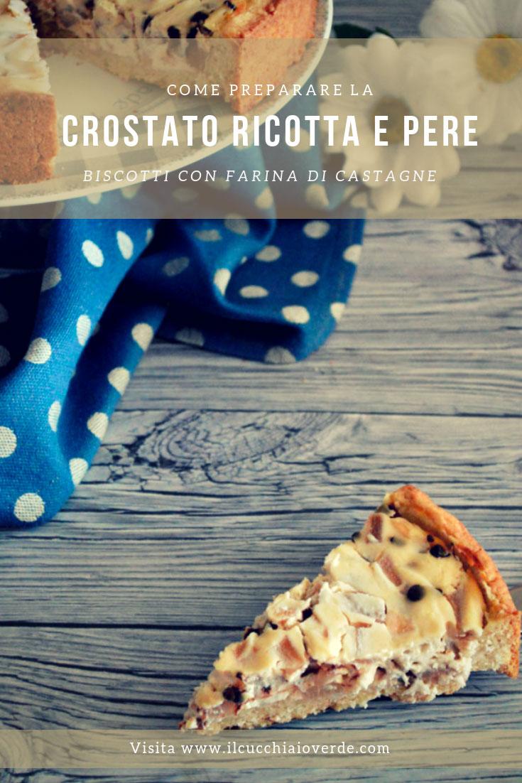 Crostata Ricotta e Pere Pinterest