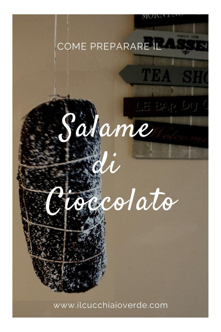 Salame di cioccolato Pinterest