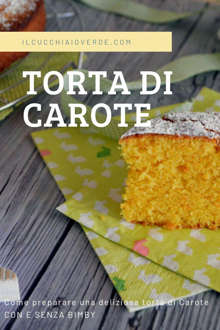 Torta di Carote Pinterest