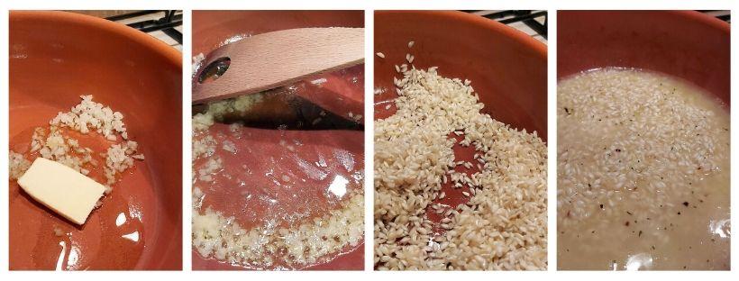 Come preparare il risotto alle mandorle
