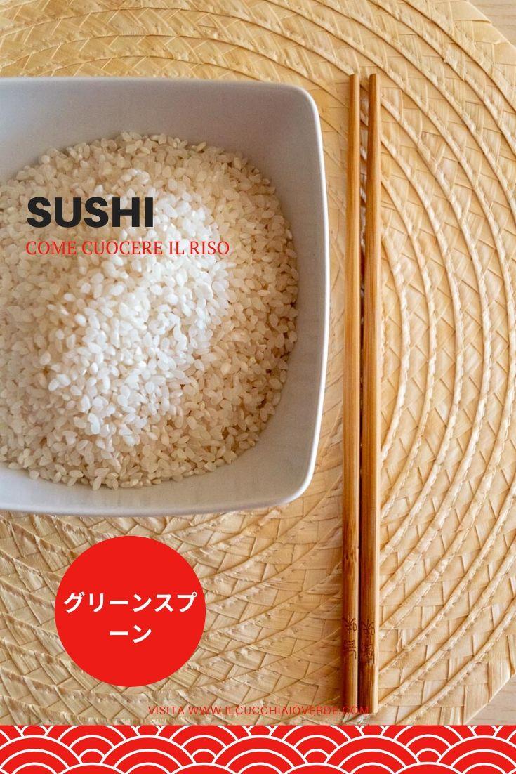 Come cuocere il riso per sushi