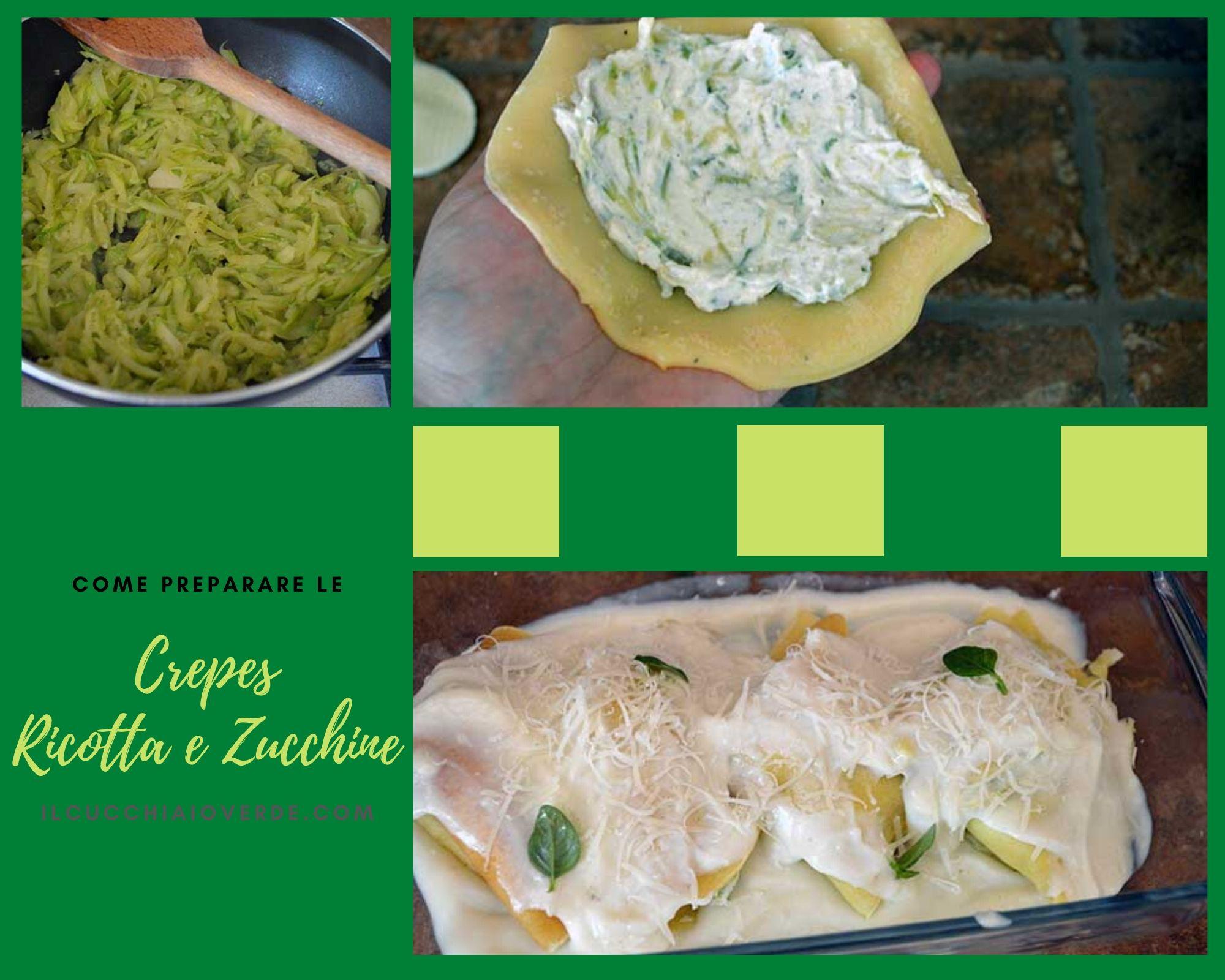 Come preparare le crespelle ricotta e zucchine