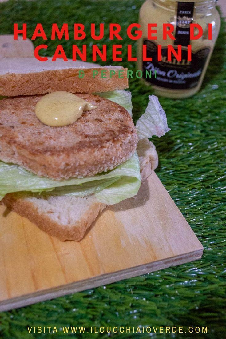 Ricetta hamburger di cannellini