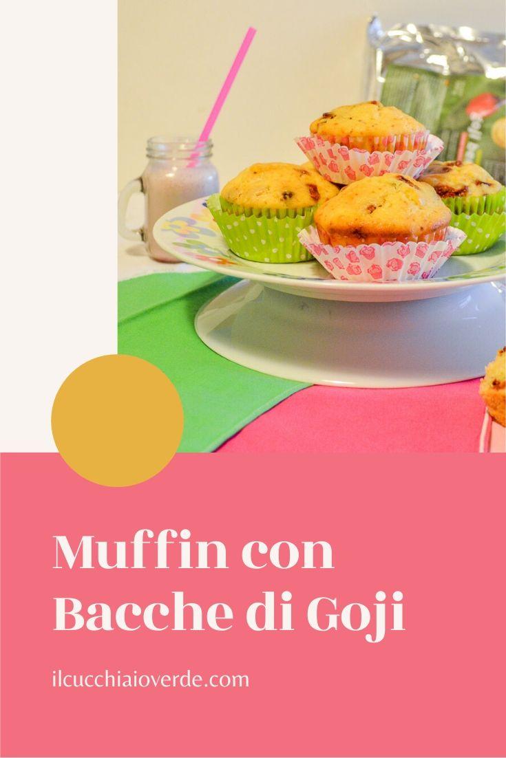 Ricetta muffin con bacche di goji