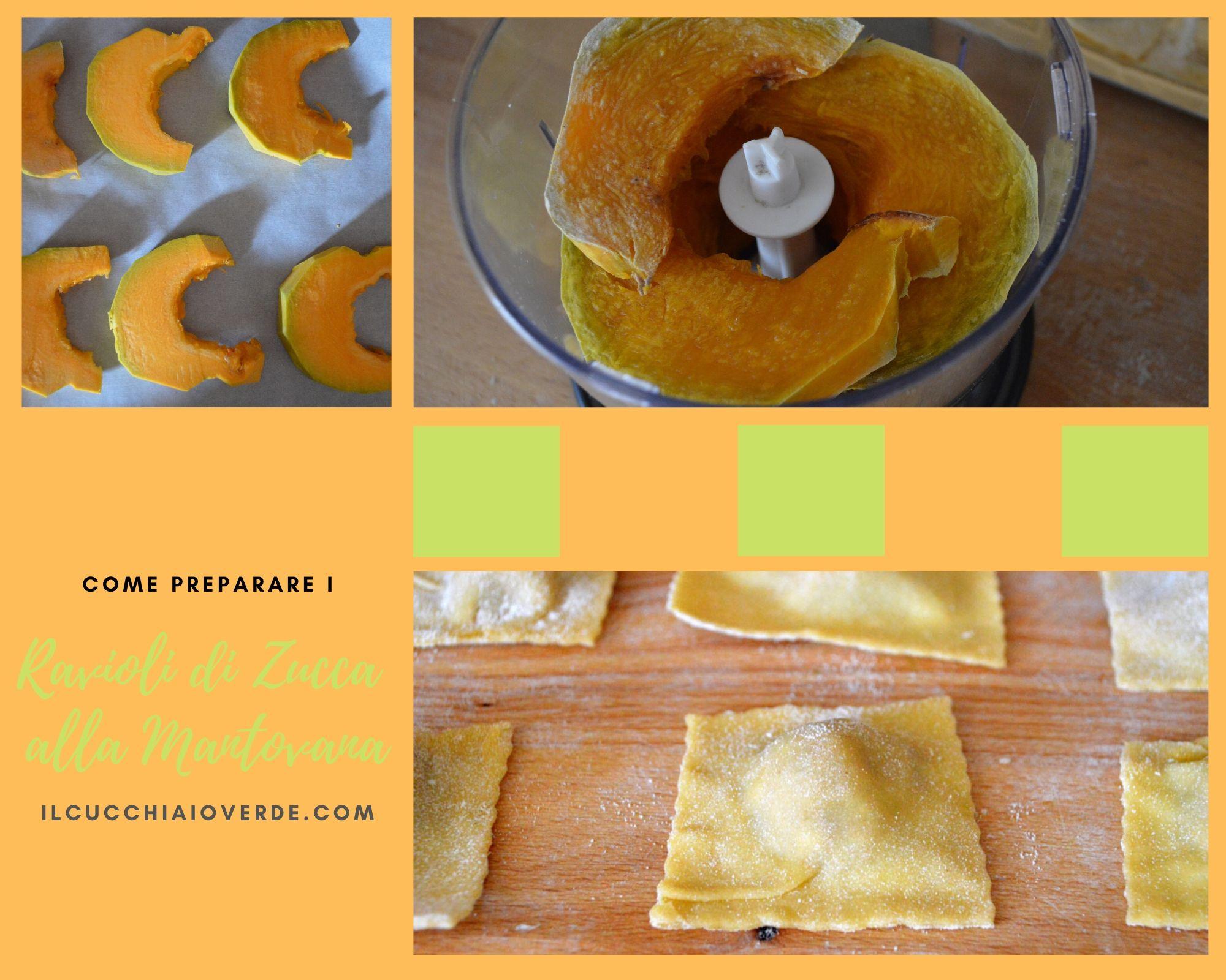 Come preparare i ravioli di zucca