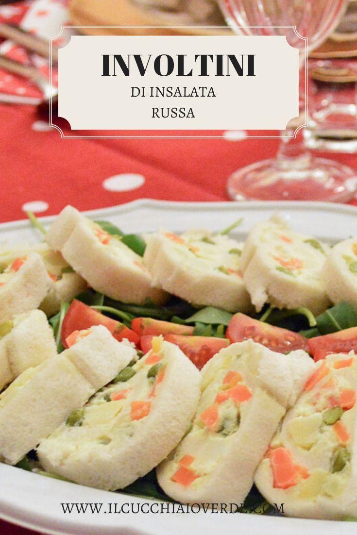Ricetta involtini di insalata russa