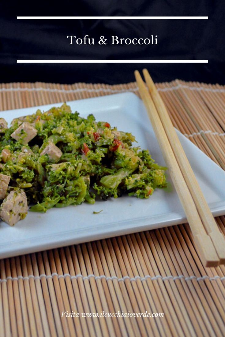 Broccoli e tofu