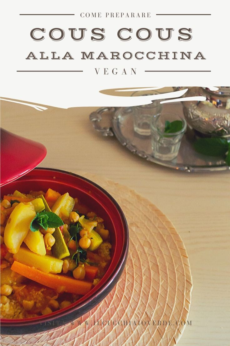 Ricetta cous cous alla marocchina