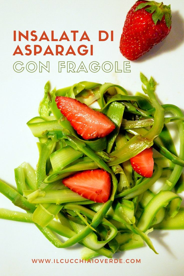 Ricetta insalata di asparagi