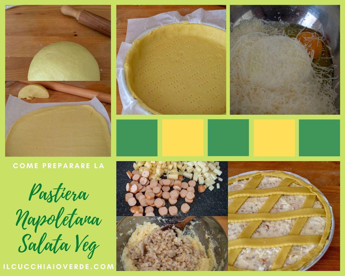 Pastiera salata vegetariana