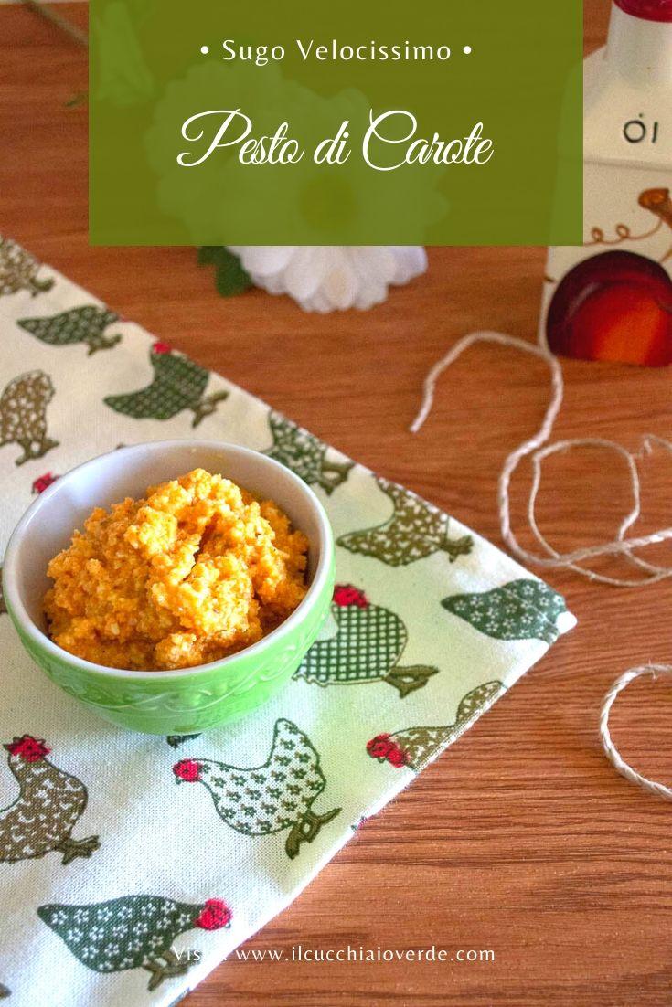 Ricetta pesto di carote